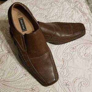 Mens size 8.5 brown dress shoe